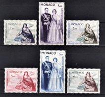 MONACO 1960 / 1961 SERIE / N° 73 A 78 - 6TP NEUFS** /7 - Airmail