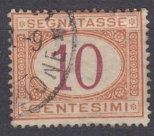 ITALIA - Segnatasse Yvert 6, Usato. - Portomarken