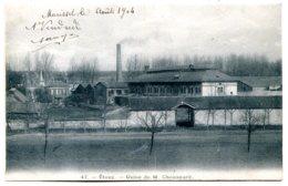 60600 ETOUY - Usine De M. Chouanard (MB N° 47B) - Cachet De Facteur Rural V3 Sur Le Timbre - Other Municipalities