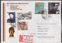 Deustche Bundespost - 1991 - Brief - Argentinien - [7] République Fédérale