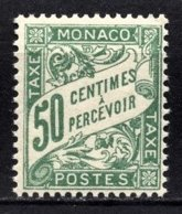 MONACO 1924 / 1932  N° 20  -  Timbres Taxes NEUF** /2 - Taxe