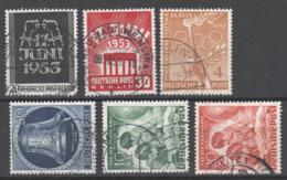 Berlin , Kleines Lot Gestempelter Frühwerte ( 160.-) - Berlin (West)