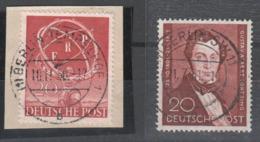 Berlin , Nr 71 + 74 Gestempelt ( 95.-) - Berlin (West)
