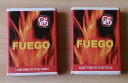 Peru Match Boxes - Boites D'allumettes