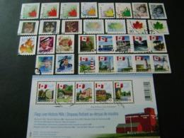 Canada 1998 To 2010 Maple Leaf, Wildlife, QEII, Flag Definitives (see Description) - Used - 1952-.... Règne D'Elizabeth II
