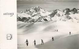 """/ CPSM FRANCE 73 """"Arèches, Le Mont Blanc Vu De La Forclaz"""" - Altri Comuni"""