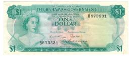 Bahamas 1 Dollar , L.1965. XF+. - Bahamas