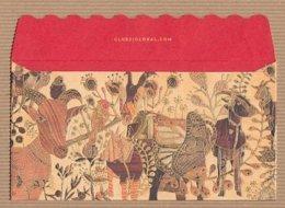 CC Chinese New Year CLUB 21 SHEEP - CHÈVRE 2015 2/2 CHINOIS Red Pockets CNY Card - Cartes Parfumées