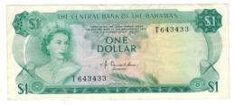 Bahamas 1 Dollar , L.1974. (Donaldson) VF/XF. - Bahamas