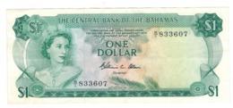 Bahamas 1 Dollar , L.1974. (Allen) XF. - Bahamas
