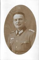 Carte Postale Photo - 1 Soldat Allemand - 1942 - Cantonné à Lurcy-Lévis (03) - 1939-45