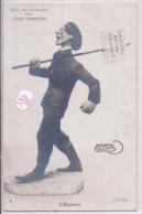 ILLUSTRATION- GIRIS- SALON DES HUMORISTES 1909- TYPES PARISIENS- L ETUDIANT - Illustrators & Photographers