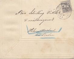 Ungarn: 1899: Trauerbrief Nach Hohenwetterbach - Hungary