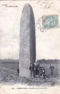29 - Finistere -  PORSPODER - Menhir De Kerhouezel - France
