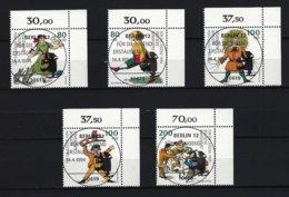 BUND Mi-Nr. 1726 - 1730 Eckrandsatz Rechts Oben - 100. Todetag Von Dr. Heinrich Hoffmann Gestempelt - [7] République Fédérale