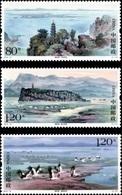 China 2019 Poyang Lake And Birds 3v Mint - 1949 - ... Repubblica Popolare