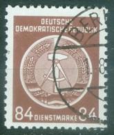 DDR Service Yvert 17 Ou Michel 17 Ob TB - Servizio