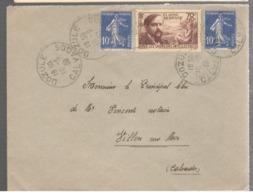 23345 - CLAUDE DEBUSSY - Marcophilie (Lettres)