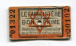 BON Primé Le Familistère : Croix De David  A  VOIR  !!! - Historical Documents