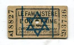 BON Primé Le Familistère : Croix De David  A  VOIR  !!! - Documents Historiques