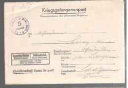 23347 - Kr - GEF . BAU = U. Arb. = Batl 6 - Marcophilie (Lettres)