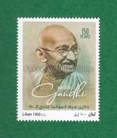 LEBANON 2019 Liban - MAHATMA GANDHI 150th Birth Anniversary 1v MNH ** - MOHANDAS KARAMCHAND GANDHI Timbre - As Scan - Mahatma Gandhi