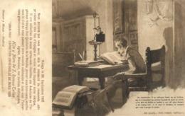 DON QUIJOTE PARTE PRIMERA CAPITULO  +Malaga 30Sept 1905  Pub Vins Fins D'Espagne RV - Spagna