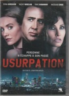 DVD USURPATION  Avec Nicolas Cage   Etat: TTB Port 110 Gr Ou 30gr - Crime