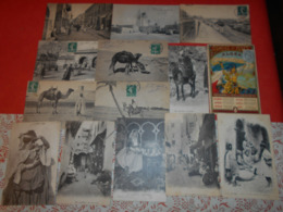 LOT DE + DE 110 CARTES POSTALES ESSENTIELLEMENT MAGHREB ET SENEGAL - Postales