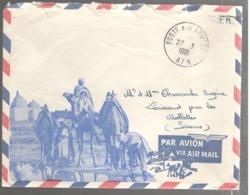 23357 - Enveloppe Avec  Illustration - Poststempel (Briefe)