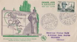 Enveloppe  FDC   1er  Jour    FRANCE    LECLERC   Kermesse  Aux  Etoiles     PARIS    1954 - FDC