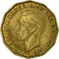 Monnaie, Grande-Bretagne, George VI, 3 Pence, 1944, TB, Nickel-brass, KM:849 - F. 3 Pence