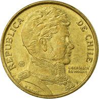 Monnaie, Chile, 10 Pesos, 2007, Santiago, TTB, Aluminum-Bronze, KM:228.2 - Chili