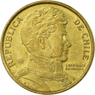 Monnaie, Chile, 10 Pesos, 2007, Santiago, TTB, Aluminum-Bronze, KM:228.2 - Chile