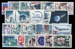 1965, Reunion, 1965-67, ** - Briefmarken