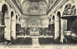 BORDEAUX  Eglise Notre Dame Interieur - Bordeaux