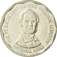 Monnaie, Jamaica, Elizabeth II, 10 Dollars, 2008, TTB, Nickel Plated Steel - Jamaica
