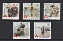 Australia 2016 Vietnam War - A Century Of Service Set Of 5 Used - 2010-... Elizabeth II