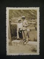 1932 COPPIA A PRE SAINT DIDIER VALLE D'AOSTA - Luoghi