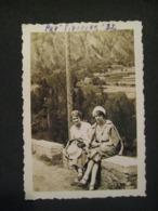 1932 COPPIA DONNE FEMMES A PRE SAINT DIDIER VALLE D'AOSTA - Luoghi