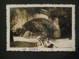 1932 COPPIA DONNE FEMMES SULLA DORA A PRE SAINT DIDIER VALLE D'AOSTA - Luoghi