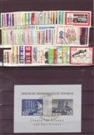 DDR, Kpl. Jahrgang 1963, Gest. (K 5091) - Gebraucht