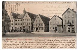 * - NIDDA - Grüss Aus Nidda - Marktplatz - Deutschland