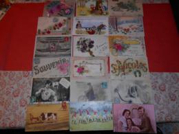 LOT DE + DE 250 CARTES FANTAISIES VOIR DETAIL - 100 - 499 Postales