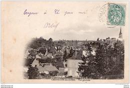 CHATILLON SUR LOIRE VUE GENERALE PRECURSEUR 1903 TBE - Chatillon Sur Loire