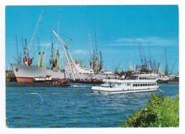 Holland Rotterdam Vue Du Port Bateaux Cargo SCHAUENBURG Péniche - Rotterdam
