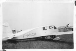 AVION CAUDRON SIMOUN  PHOTO ORIGINALE FORMAT 8.50 X 6 CM - Luftfahrt