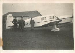 AVION CAUDRON SIMOUN D. DORET  PHOTO ORIGINALE FORMAT 8.50 X 6 CM - Luftfahrt