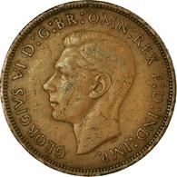 Monnaie, Grande-Bretagne, George VI, Penny, 1940, TB+, Bronze, KM:845 - 1902-1971 :  Post-Victoriaanse Muntstukken