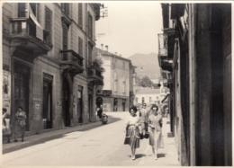 Original Foto - Lombardei - Lecco - Ortseinsicht - Juli 1955 - Lecco